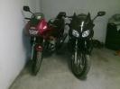 Moje XJ600S a CBF1000 vedle sebe