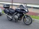 Moje Honda CBF 1000 se zavazadly